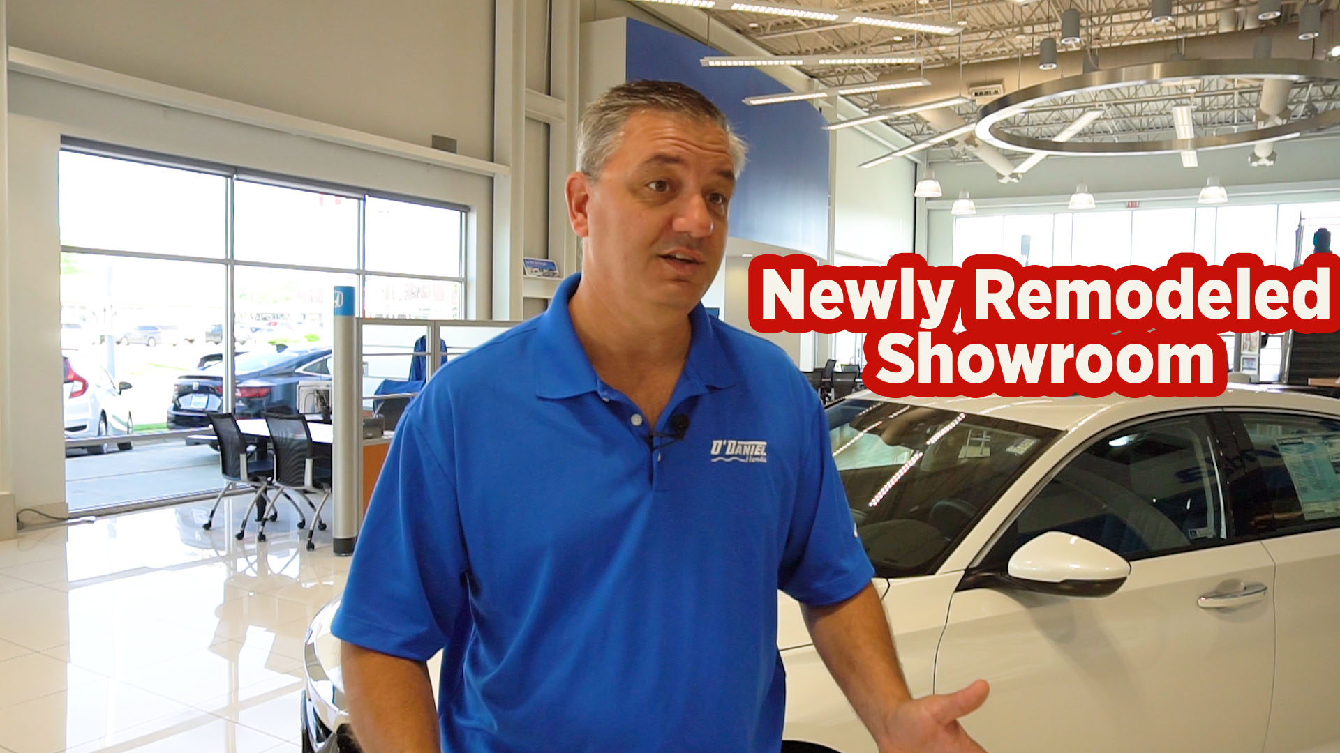 VIDEO: O'Daniel Honda Showroom Remodel