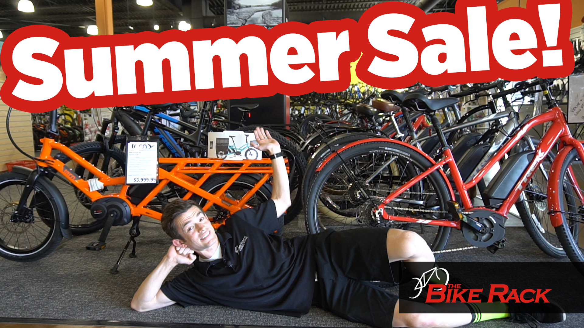 COMMERCIAL: The Bike Rack's 2019 Summer Sale