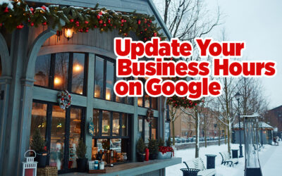 Update Your Holiday Hours on Google