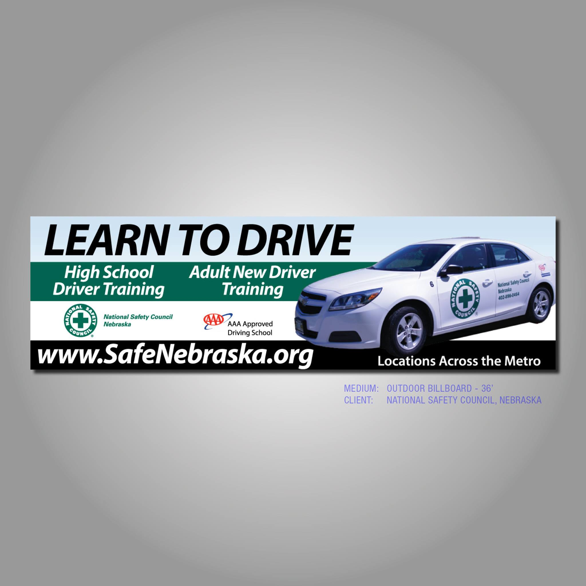 Driver Ed billboard