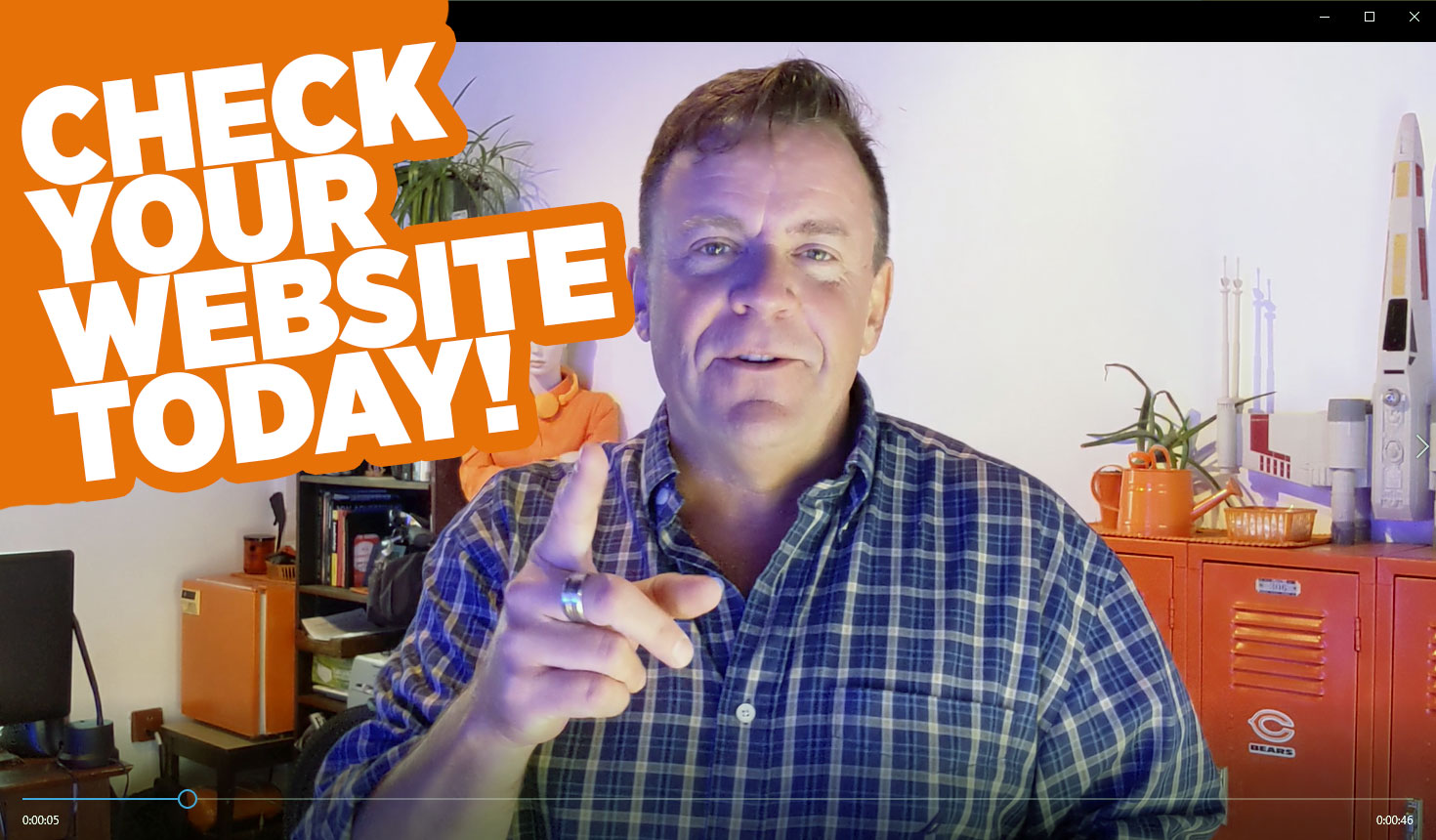 Marketing Tip: Do a monthly website review
