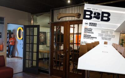 Omaha Advertising featured in B2B Magazine
